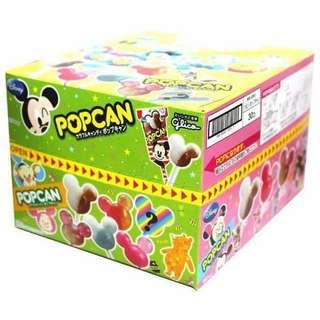 POPCAN迪士尼棒棒糖~6種口味 一盒30支