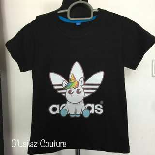 Clearance Sales Unicorn Kids Adidas Tshirt