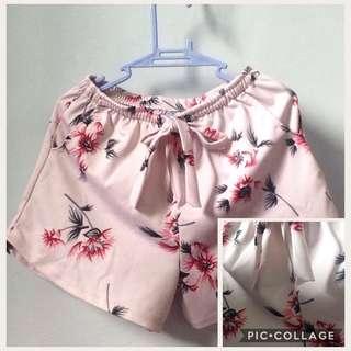 Cotton short floral