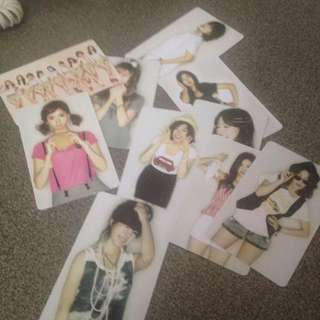 Girls generation Japanese gee photo card