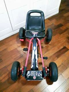 Children's Pedal Go Kart on Rubber Wheels