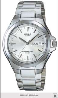 Casio 10 years battery life dress watch 💯 original