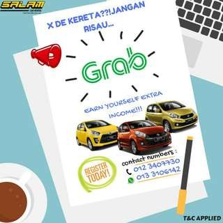 Grab car for rental