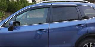 Subaru Forester,XV or Outback Window Visors