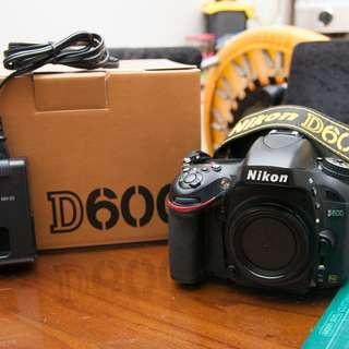 Nikon D600 單機身 (2013.4購入 公司貨已過保)