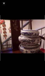 Deep large bowl