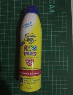 Banana Boat Lotion Ultramist