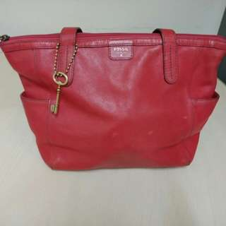 Mimi shopper red with deffect