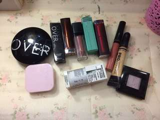 LIPSTICK / LIPCREAM / CONTOUR / CONCEALER / LA GIRL / MAYBELLINE / CATRICE / EYESHADOW / HIGHLIGHTER