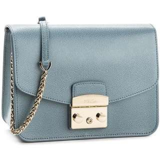Furla metropolis dolomia small size crossbody bag