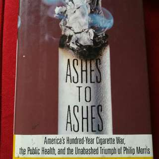 HARD BOUND BOOK: TITLE 🚩 Ashes to Ashes