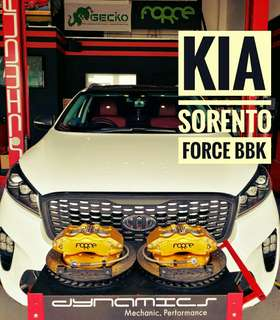 KIA Sorento : FORCE Big 6 Pot BBK (Big Brake Kit)