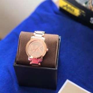 🚚 [澳洲帶回]全新正品Michael Kors 氣質玫瑰金鋼帶錶