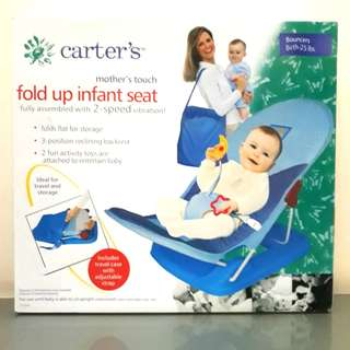 Carter's Carters Fold Up Infant Seat BOUNCERS