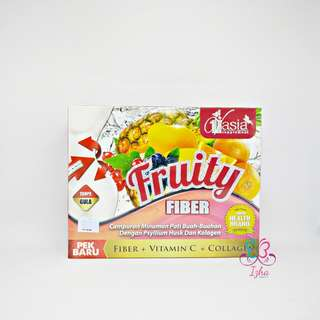[V'ASIA] Fruity Fiber + Collagen - 10 sachet x 15g