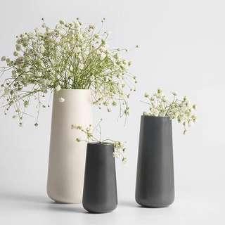 Hari Raya💚Minimalists Solid Ceramic Vase