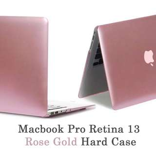 Macbook Pro Retina 13 Rose Gold Hardshell Case Casing Cover