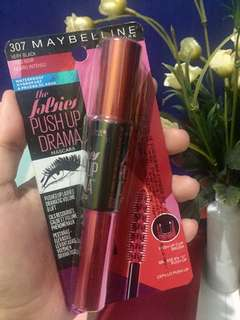 Maybelline push up drama maskara