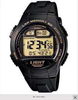 3 days flash sales Casio soccer lap memory 60 watch 💯 Original