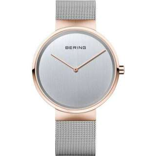 BERING 14539-060 CLASSIC SILVER MILANESE MEN'S WATCH