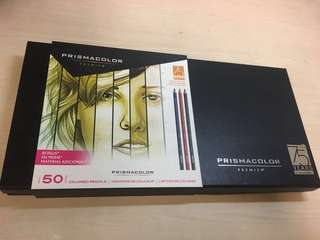 Prismacolor Colored Pencils (Set of 50, Limited Edition)