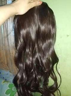 Hairclip Curly dan Lurus 60cm