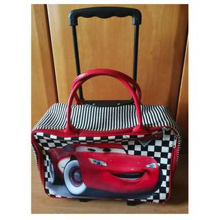 Cars Disney Bag & Angry Birds Bag