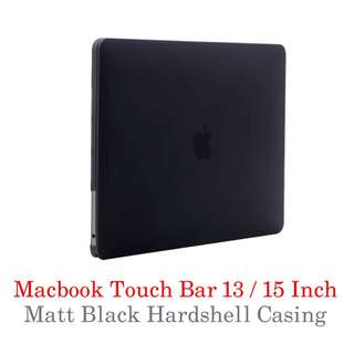 Macbook Touchbar Case - Matt Black!