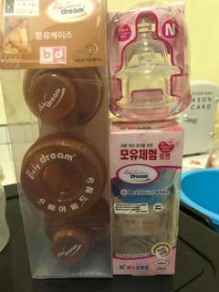 Baby dream feeding bottle set