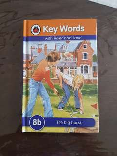 Key word with Peter and Jane - 8B (The Big House)