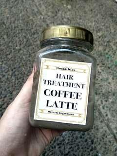 Hair mask / Hair treatment COFFEE LATTE
