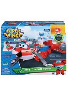 Super Wings Jett's Takeoff tower