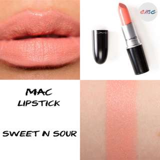BN MAC Creemsheen Lipstick Sweet N Sour
