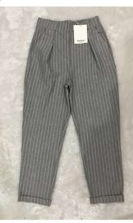 STRADIVARIUS PINSTRIPE TROUSERS- SIZE S - FIXED!!