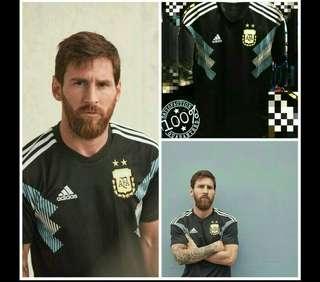 Jersey Argentina Away 2018 Worldcup Piala Dunia OFFICIAL GRADE ORI