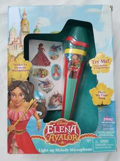 Elena of Avalor light up melody mic
