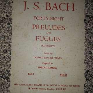 J.S.Bach 48 Preludes & Fugues (bks 1& 2).