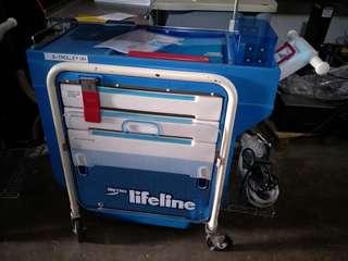 Metro Lifeline Emergency Cart  @ $550 Each ( 2 pcs)