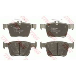 Audi VW Parts - TRW Rear Brake Pad Set