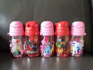 1for$12. 2for$20 My little pony Frozen Avengers Water Bottle