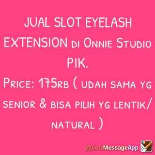 Eyelash extension Onnie Studio PIK