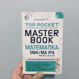 TOP POCKET MASTER BOOK MATEMATIKA SMA