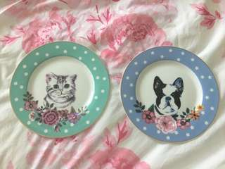 Cute plate from ginger
