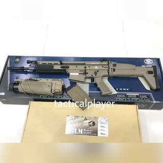 Airsoft FN Scar - H + grenade luncher