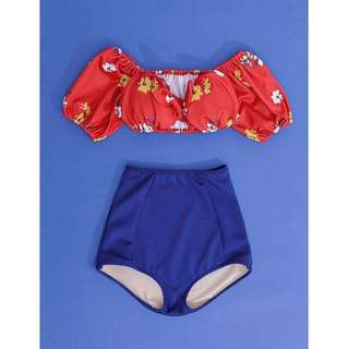 Floral 2 in 1 Swimsuit