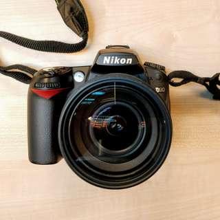 Nikon D90 + Tamron 17-50 f2.8 + 3 batteries