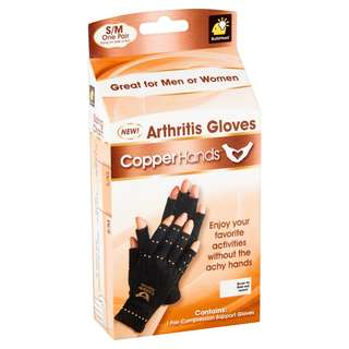 Copper Hands Arthritis Gloves