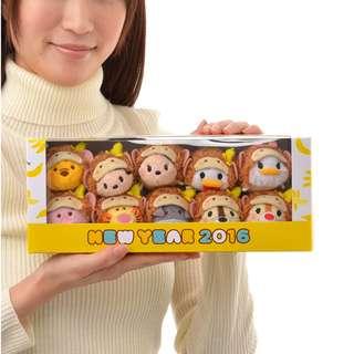 (原價$598) Disney Monkey 2016 𤠣年 Tsum Tsum (日版)(全新)