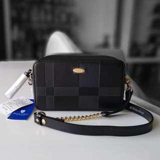 Authentic Crestbridge Blue Label Shoulder Bag