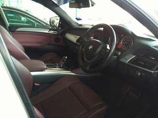 Bmw x6 auto petrol
